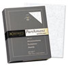 Parchment Specialty Paper, Blue, 24 lbs., 8-1/2 x 11, 500/Box