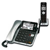AT&T(R) CL84102 DECT 6.0 Corded and Cordless Telephone Answering System