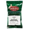 Premium Coffee, Decaffeinated French Roast, 18/Carton