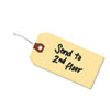 """Shipping Tags, Manila, Wired, 4 3/4"""" x 2 3/8"""", 1000/BX"""