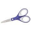 "Straight KleenEarth Soft Handle Scissors, 6"" Long, Blue/Gray"