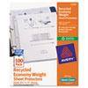 Economy Semi-Clear Sheet Protectors, Acid-Free, 100/BX