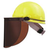 High Performance Protective Cap Brackets, Faceshield Peak Mounting, Dielectric