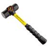 "Steel-Head Sledge Hammer, 4lb, 17"" Tool Length, SG Grip, Fiberglass Handle"