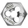 IRWIN(R) HANSON(R) High-Carbon Steel Re-Threading Fractional Hexagon Die 7258
