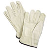 Unlined Pigskin Driver Gloves, Cream, X-Large, 12 Pairs