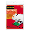 "Photo Size Thermal Laminating Pouches, 5 mil, 5"" x 7"", 20/PK"