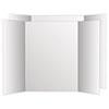 2 Cool Colors Project  Board, 36 x 48, White/White, 6/Carton