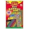 Sticker Assortment Pack, Assorted, 2500 per Pack