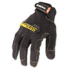 General Utility Spandex Gloves, Black, Large, Pair