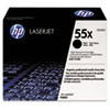 55X (CE255X) Toner Cartridge, Black High Yield