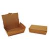 ChampPak Carryout Boxes, 2lb, 7 3/4w x 5 1/2d x 1 7/8h, Brown, 200/CT