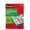Scotch(TM) Self-Sealing Laminating Sheets