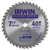 IRWIN(R) Carbide-Tipped Circular Saw Blade 15230ZR
