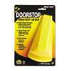 "Giant Foot Doorstop, No-Slip Rubber Wedge, 3-1/2""W x 6-3/4""D x 2""H, Safety Yellow"