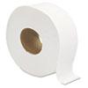 "Jumbo JRT Bath Tissue, Septic Safe, 2-Ply, White, 3 1/4"" x 720 ft, 12 Rolls/Carton"