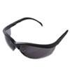 Klondike Safety Glasses, Matte Black Frame, Gray Lens