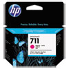 711, (CZ135A) 3-pack Magenta Original Ink Cartridges