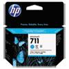 711, (CZ134A) 3-pack Cyan Original Ink Cartridges