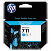 711, (CZ130A) Cyan Original Ink Cartridge