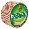 """Colored Duct Tape, 9 mil, 1.88"""" x 10 yds, 3"""" Core, Zig Zag"""