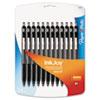 InkJoy 300RT Ballpoint Pen, 1mm, Black Ink, 24/Pack