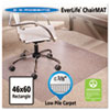 """46x60 Rectangle Chair Mat, Multi-Task Series AnchorBar for Carpet up to 3/8"""""""