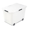 Advantus Rolling 15-Gal. Storage Box