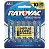 Alkaline Batteries, AA, 12/Pack