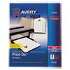 Print-On™ Dividers, 8-Tab ST/PK
