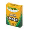 Crayola(R) Anti-Dust(R) Chalk