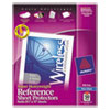 Avery(R) Heavyweight and Super Heavyweight Easy Load Non-Glare Sheet Protector