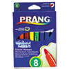 Washable Markers, Eight Assorted Colors, 8/Set