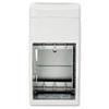 Matrix Series Two-Roll Tissue Dispenser, 6 1/4w x 6 7/8d x 13 1/2h, Gray