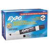 Low Odor Dry Erase Marker, Chisel Tip, Black, DZ