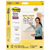 Easel Pads Super Sticky, Self Stick Wall Easel Primary Ruled Pad, 20w x 23h, White, 20 Sheets, 2/Pack