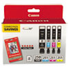 Canon(R) 6497B004 Inks & Paper Pack