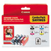 Canon(R) 4479A292 Ink Tank and Photo Paper Combo Pack