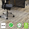 Clear Polycarbonate All Day Use Chair Mat for Hard Floor, 46 x 60