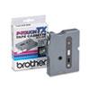 TX Tape Cartridge for PT-8000, PT-PC, PT-30/35, 3/8w, Black on White