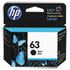 63 Ink Cartridge, Black (F6U62AN)