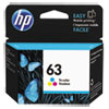 63 Ink Cartridge, Tri-color (F6U61AN)