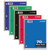 Coil-Lock Wirebound Notebooks, Legal/Wide, 10-1/2 x 8, White, 70 Sheets