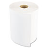 "Hardwound Paper Towels, 1-Ply, 8"" x 600ft, White, 2"" Core, 12 Rolls/Carton"