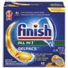 Dish Detergent Gelpacs, Orange Scent, Box of 54 Gelpacs