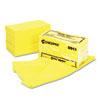 Masslinn Dust Cloths, 24 x 24, Yellow, 50/Bag, 2 Bags/Carton