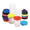 No-Spill Paint Cups, 10/Set