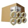 "Heavy-Duty Box Sealing Tape, 48mm x 50m, 3"" Core, Clear, 36/Pack"