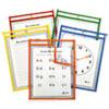 C-Line(R) Reusable Dry Erase Pockets