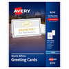 Avery(R) Greeting Cards with Matching Envelopes